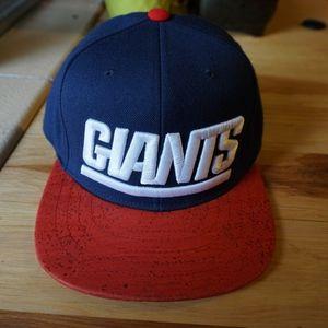 New York Giants Mitchell & Ness Snapback